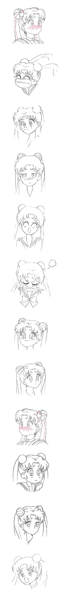 """""""Usagi Tsukino (Sailor Moon)"""" by 武内 直子 Naoko Takeuchi* 