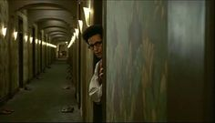 Barton Fink. the shoes in the hall way had symbolized all the people that were not shown in the film, like the other guest.