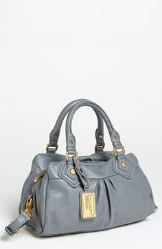 MARC BY MARC JACOBS Classic Q - Baby Groovee Leather Satchel | Nordstrom