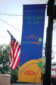 We missed the Morton Pumpkin Festival by only a few days. Morton, IL