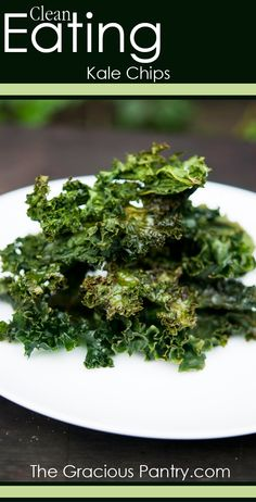 Clean Eating Kale Chips #cleaneatingrecipes #cleaneating #eatclean #recipes #healthyrecipes