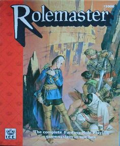 Rolemaster (2nd Edition, Revised) - never actually played this but do own it.