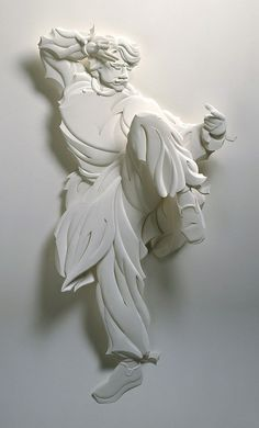 Jeff Nishinaka's 3D paper sculpture   Flickr - Photo Sharing!