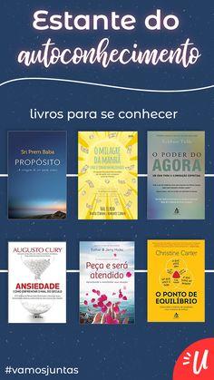 6 livros que podem te ajudar no seu autoconhecimento.