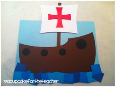 Christopher Columbus {Craftivity