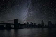 photographs of darkened cities by thierry cohen/// new york