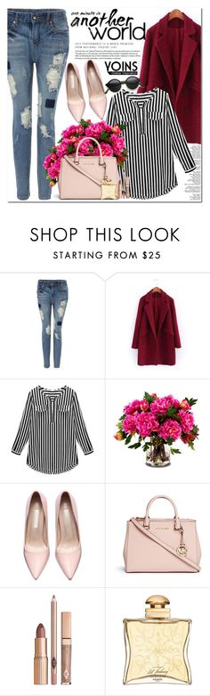 """""""Yoins.com"""" by oshint ❤ liked on Polyvore featuring New Growth Designs, Michael Kors, Hermès, vintage, women's clothing, women's fashion, women, female, woman and misses"""