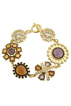 Shop Floral Embellishment Diamante Bracelet at ROMWE, discover more fashion styles online. Latest Street Fashion, Summer Essentials, Cool Items, Romwe, Embellishments, Jewelry Necklaces, Bling, Jewels, Floral
