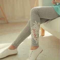 Cheap leggings clothes, Buy Quality leggings wholesale directly from China legging fashion Suppliers: Slimming Leggings for Women Girls Fashion Lace Hollow Out Flowers Printed leggins Leggings Skinny Pants High Elasticity Cheap Leggings, Lace Leggings, Lace Pants, Tights, White Leggings, Women's Pants, Cotton Leggings, Skinny Chinos, Skinny Pants