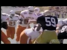 The greatest college player ever Barry Sanders - College Career Highlights
