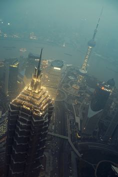 Shanghai by Alex Robertson, via Behance