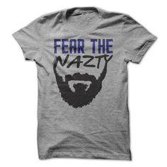 Fear the Chuck Nazty T Shirts, Hoodie. Shopping Online Now ==► https://www.sunfrog.com/Sports/Fear-the-Chuck-Nazty-.html?41382