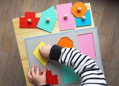 WLKMNDYS // Happy Monday DIY // Farben und Formen Puzzle