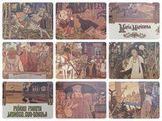 "I. Bilibin ""Piorko Finista Jasnego, Cud-Sokola (Finest - The Brave Falcon)"". (In Polish). 8''x10'', Hardcover, 47 Pages, 29 Illustrations — 1983"