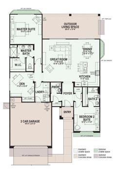Briscoe - Floor Plan - Robson Ranch Texas - Active Adult Community Dallas
