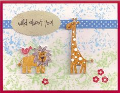 SeptemberCC0901 - Wild About You by jenn47 - Cards and Paper Crafts at Splitcoaststampers
