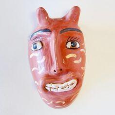 Alicia Jauregui - Mexican Folk Art Clay Mask 2