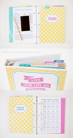 Crystal Wilkerson's 2014 Life Planner