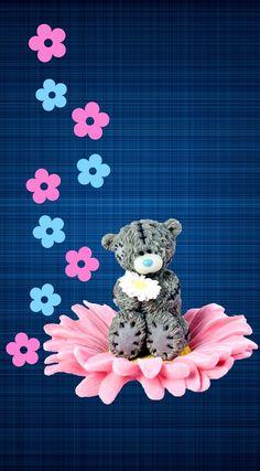 Tatty teddy by constance Bear Wallpaper, Hello Kitty Wallpaper, Wallpaper Iphone Cute, Cellphone Wallpaper, Cool Wallpaper, Wallpaper Backgrounds, Tatty Teddy, Pretty Wallpapers, Funny Wallpapers