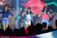 """This is Alex Gonzaga, Kathryn Bernardo, and Janella Salvador dancing to """"Watch Me (Whip/Nae-Nae)"""" by Silentó during their production number for ASAP Supahdance during ASAP at ABS-CBN Studio 10 last June 28, 2015. Indeed, Alex, Kathryn, and Janella are my favourite Kapamilyas and they're amazing Star Magic talents and good dancers. #KathrynBernardo #TeenQueen #AlexGonzaga #IAmAlexG #JanellaSalvador #WatchMeWhipNaeNae #NaeNae #ASAP20 Child Actresses, Child Actors, Maja Salvador, Born Again Christian, Star Magic, Kathryn Bernardo, All Grown Up, Dancers, Comedians"""
