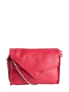 LEATHER CROSS OVER BAG - Pieces