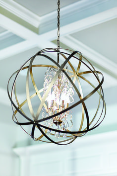 The Axis Pendant with Crystals by Capital Lighting Fixture Co.