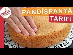 Sünger PANDİSPANYA TARİFİ - Çok kabaran kek yapımı - YouTube
