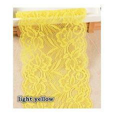 BONY. 10Yards/lot Width 15cm Elastic Lace Fabric,DIY Garment Accessories,Sewing Trim Wedding Lace [made in China] *** Learn more by visiting the image link.
