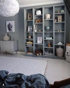 I love that you are all so creative! Look at this smart IKEA hack by with our sleeping bear paper bag. Today we got some of the samples on. Ikea Kids, Ikea Billy, Toddler Rooms, Kids Bedroom Furniture, Kidsroom, Boy Room, Room Interior, Room Inspiration, Shabby