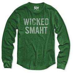 Boston Local Pride by Todd Snyder Women's Long Sleeve Thermal Wicked SMAHT - Green