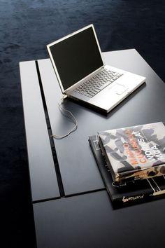 black color modern minimalist office ceo desk design black color furniture office counter design