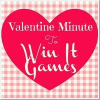 valentine minute to win it games - Valentine Minute To Win It Games