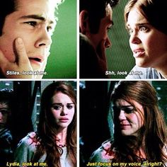 #TeenWolf 3x11/4x9 - Stiles and Lydia