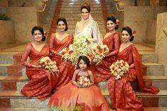 Love the brides maid costume color