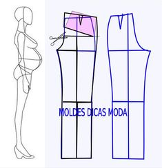 Ideas skirt pattern sewing tutorials fabrics for 2019 Dress Sewing Patterns, Sewing Patterns Free, Sewing Tutorials, Clothing Patterns, Pattern Sewing, Sewing Pants, Sewing Clothes, Diy Clothes, Skirt Sewing
