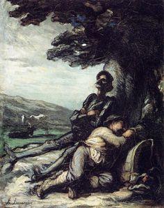 Honoré Daumier, 'Don Quixote'