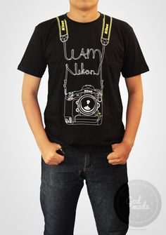 $18 USD Nikon T shirt / Photography / I am