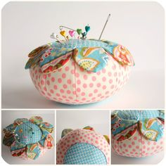 This took me a scant year to make. I used an Anna Maria Horner pattern that I got from a Better Homes and Gardens magazine ca. Needle Book, Needle And Thread, Sewing Crafts, Sewing Projects, Sewing Kits, Creation Couture, Sewing Accessories, Sewing Notions, Fabric Scraps