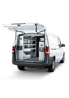 Mercedes Bedrijfswageninrichtingen | Bott Mercedes Benz, Van, Vehicles, Vans, Cars, Vehicle