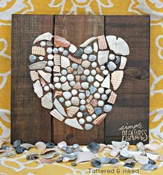DIY Seashell Art Ideas: http://www.completely-coastal.com/2013/01/shell-art.html Framing and mounting ideas for your seashell collection!