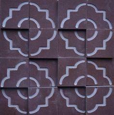 Brogliato Revestimentos - Coleções - Print - Tile Brown - 30x30cm.