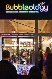 Bubbleology bar in Warsaw- bubble tea wow