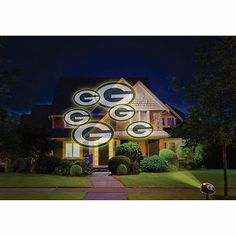 NFL House LED Halloween Projector Projection Light Indoor Outdoor Choose Team