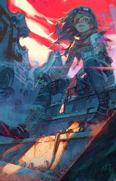 HUSKS cover by toni infante Art Inspo, Kunst Inspo, Art And Illustration, Character Illustration, Art Anime, Anime Kunst, Fantasy Kunst, Fantasy Art, Character Art