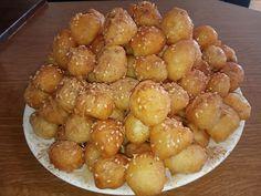 Greek Desserts, Greek Recipes, Greek Donuts, Pretzel Bites, Oreo, Deserts, Food And Drink, Dessert Recipes, Ice Cream