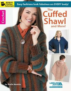 Maggie's Crochet · The Cuffed Shawl and More!
