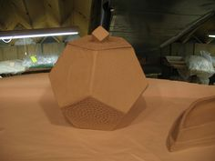 Dodecahedron box. My husband would love to make something like this.