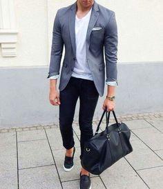 go tot gym after work / mens fashion // urban men // gym bag // mens wear…