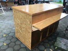 Cashier table by : -Nicewood Production-