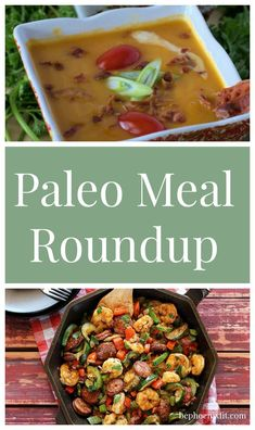 A week of Paleo meal ideas to try!